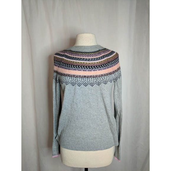 and Sweaters - Grey sweater